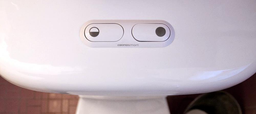 Water saving flush buttons