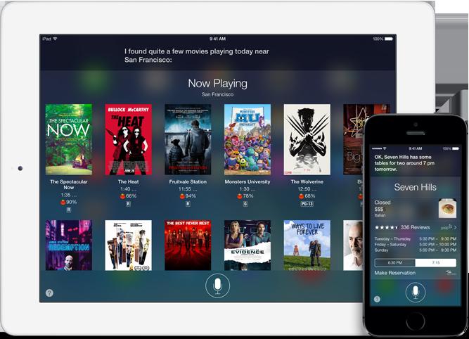 Siri from Apple