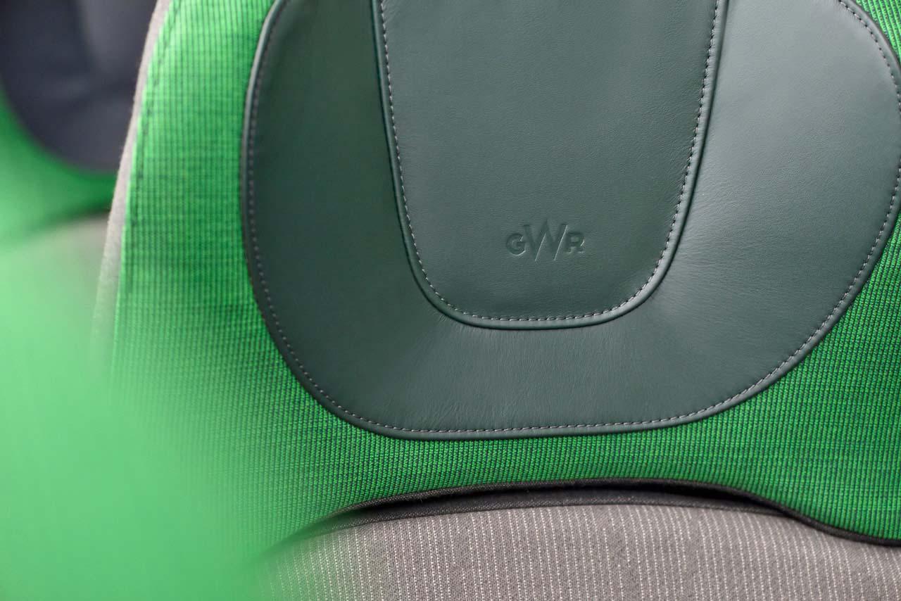 GWR Standard Class Seat Headrest
